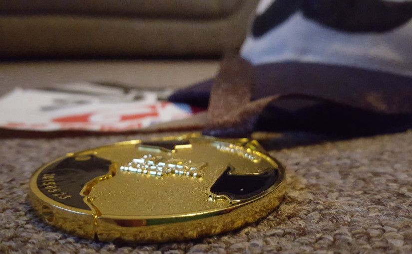 Medaljen göteborgsvarvet 2015